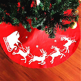 1pc Christmas Decorations Holiday Tree Skirts Holiday, Holiday Decorations Holiday Ornaments