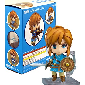Anime Action Figures Inspired by The Legend of Zelda Link PVC 10 CM Model Toys Doll Toy 6280322