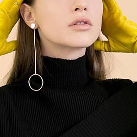 Women's Hoop Earrings Pendant Dangle Earrings - Personalized, Dangling Style, European Gold / Silvery For Party Daily Casual