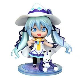 Figures Animé Action Inspiré par Vocaloid Snow Miku CM Jouets modèle Jouets DIY 6377361