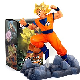 Anime Action Figures Inspired by Dragon Ball Goku PVC 10 CM Model Toys Doll Toy 6409315