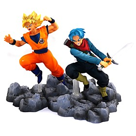 Anime Action Figures Inspired by Dragon Ball Goku PVC 10 CM Model Toys Doll Toy 6410003
