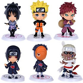 anime action figurer inspireret af naruto itachi uchiha pvc cm model legetøj dukke legetøj 6410001
