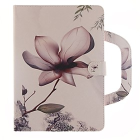 Case For Apple iPad Air 2 / iPad (2017) Wallet / Card Holder / with Stand Full Body Cases Flower Hard PU Leather for iPad Air / iPad 4/3/2 / iPad Pro 10.5