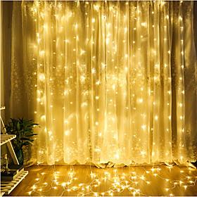 4m Fili luminosi 300 LED LED Dip Bianco caldo / Luce fredda / Blu Collagabile 220-240 V 1pc / IP65 6380253