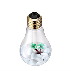 DP-001 Colorful Bulb Humidifier Home Air Purifier USB Charging 6393177