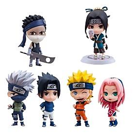 anime action figures ispirate a naruto sasuke uchiha pvc cm modello giocattoli bambola giocattolo 6410002