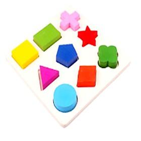 Wooden Puzzles Toys Plane Square Cut Family School New Design Kids Pieces 6411973