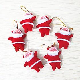 6pcs Christmas Decorations Christmas Ornaments, Holiday Decorations 10.010.03.0