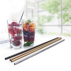 30OZ Metal Straw Colorful Aluminum Drinking Straws Food Grade Juicy Reusable Straws 6396872