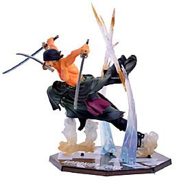Figures Animé Action Inspiré par One Piece Roronoa Zoro 13 CM Jouets modèle Jouets DIY 6451762