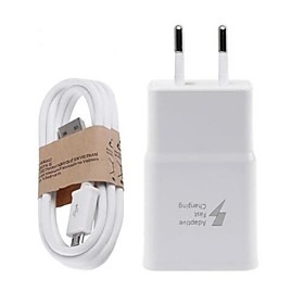 Home Charger USB Wall Charger Micro USB Cable US Plug / EU Plug Fast Charge / Charger Kit 1 USB Port 2 A for Samsung Xiaomi Huawei Mobile Phone