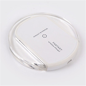 Wireless Charger USB Charger USB Wireless Charger / Qi 1 USB Port 2 A DC 5V for iPhone 8 Plus / iPhone 8 / S8 Plus