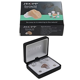 JECPP V - 126MINI BTEHearing Aids Sound Amplifier In the Ear Tone Volume Adjustable Hearing Aid Ear Care For the elderly deaf dropship health care