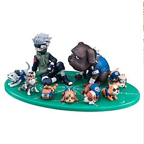 Anime Action Figures Inspired by Naruto Hatake Kakashi PVC CM Model Toys Doll Toy 6418626