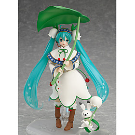 Anime Action Figures Inspired by Vocaloid Hatsune Miku PVC 13 CM Model Toys Doll Toy 6431890