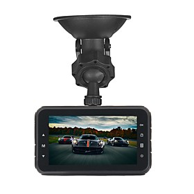 ZIQIAO JL-A80 1920 x 1080 / 1080x720 Car DVR 170 Degree Wide Angle CMOS 3inch TFT Dash Cam with Time Stamp / Delay Shutdown / HDR Car 6455031