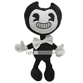 30cm Ghost Bendy and The Ink Machine Classic Theme Stuffed Animal Plush Toy Cute For Children Animals Silicone Gift 1pcs 6430060