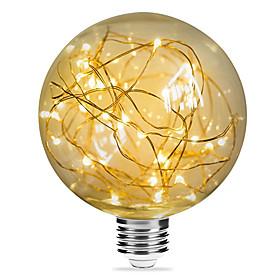 1pc 3 W 200 lm E26 / E27 LED Filament Bulbs G95 33 LED Beads SMD Decorative Starry Christmas Wedding Decoration Warm White 85-265 V / RoHS