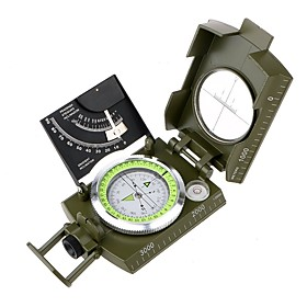 Compasses Outdoor Glow in the Dark Geometric Compass Climbing Camping / Hiking / Caving Snowsports Traveling All-mountain Metalic Zinc