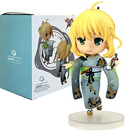 Anime Action Figures Inspired by Fate/stay night Saber PVC 12 CM Model Toys Doll Toy 6451770