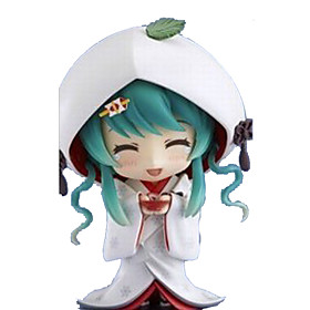 Anime Action Figures Inspired by Vocaloid Snow Miku PVC CM Model Toys Doll Toy 6447604