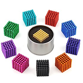 216 pcs 3mm Magnet Toy Magnetic Balls Building Blocks Super Strong Rare-Earth Magnets Classical Stress and Anxiety Relief Focus Toy Office Desk Toys Kid's / Ad