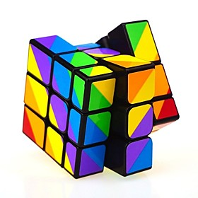 Rubik's Cube Mirror Cube 333 Smooth Speed Cube Rubik's Cubes Puzzle Cube Relieves ADD, ADHD, Anxiety, Autism Office Desk Toys Focus Toy 6451877