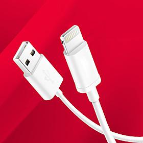 Belysning USB-kabeladapter Opladerkabel Opladerledning Data  Synkronisering Kabel Normal Kabler Kabel Til iPad Apple iPad Apple iPhone 4971698