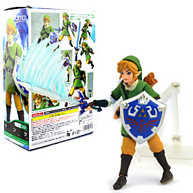 Anime Action Figures Inspired by The Legend of Zelda Link 14 CM Model Toys Doll Toy 6453258