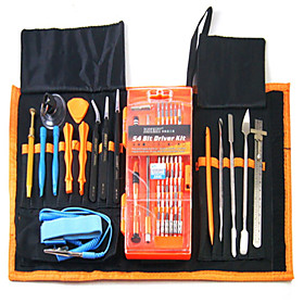 Cell Phone Repair Tools Kit All-in-1 Ruler Tweezers Screwdriver Extension Bit Screwdriver Suction Cup Plastic/Stianless Steel Pry 6530139