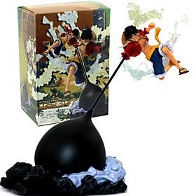 Figures Animé Action Inspiré par One Piece Monkey D. Luffy 26 CM Jouets modèle Jouets DIY 6478418