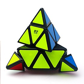 Rubik's Cube QIYI A Pyramid Alien 333 Smooth Speed Cube Magic Cube Puzzle Cube Glossy Office Desk Toys Stress and Anxiety Relief 6327960