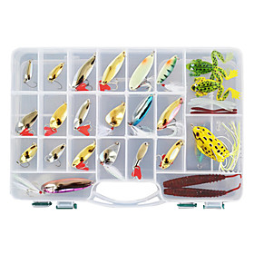 Hard Baits/Soft Baits/Metal Baits Fishing Lure Set (138 pcs) 335511