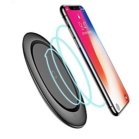 Qi Wireless Charger With Cable for iPhone X Xs MAX XR 8 plus Fast Charging for Samsung S8 S9 S10 Plus Note 9 8 USB Phone Charger Pad