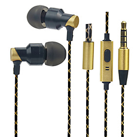 PHB EM006 Earphone High Quality Metal Durable Type  Stereo 4611