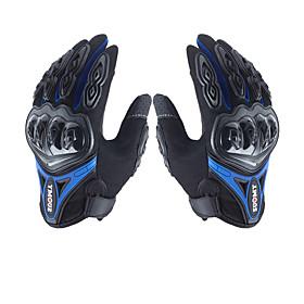 su0my su-10 motorcycle gloves wateproof anti-slip full finger nylon material 6549697