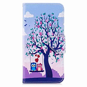 Case For Xiaomi Redmi Note 5A / Redmi 5 Plus Wallet / Card Holder / with Stand Full Body Cases Owl / Tree Hard PU Leather for Xiaomi Redmi Note 5A / Xiaomi Red