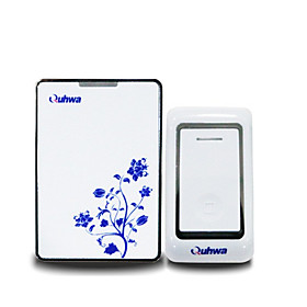 qh-833qb wireless doorbell 36 melodies music us plug user manual chinese 6546435