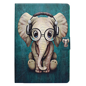 Case For Apple iPad Pro 10.5 Card Holder / with Stand / Flip Full Body Cases Elephant Hard PU Leather for iPad Air / iPad 4/3/2 / iPad Pro 10.5