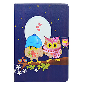 Case For Apple iPad Pro 10.5 Card Holder / with Stand / Flip Full Body Cases Owl Hard PU Leather for iPad Air / iPad 4/3/2 / iPad Pro 10.5