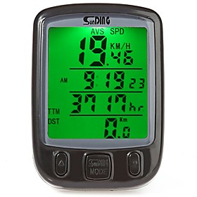 SUNDING 563A Bike Computer/Bicycle Computer Waterproof Portable Wired Odometer Speedometer Cycling / Bike Mountain Bike/MTB Cycling