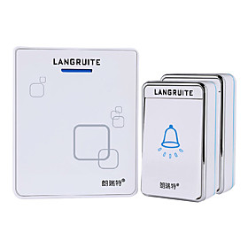 lenrit lr-2-1688 two to one doorbell wireless doorbell 48 melodies music volume adjustable us plug user manual chinese 6546794