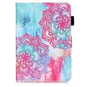 Case For Samsung Galaxy Tab S2 9.7 Wallet / Card Holder / with Stand Full Body Cases Mandala Hard PU Leather for Tab S2 9.7