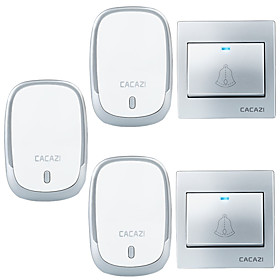 Ding dong Music Two to Three Doorbell Sound adjustable Wireless Doorbell 300 Surface Mounted 6555094