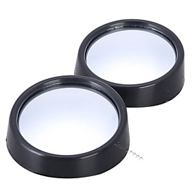 2pcs/lot universal driver 2 side wide angle round convex car vehicle mirror blind spot auto rearview for all car