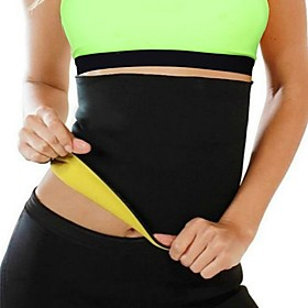 Lumbar Belt / Lower Back Support for Fitness Running Men's Women's Slim Protective Breathable Stretchy Compression Easy dressing Sports