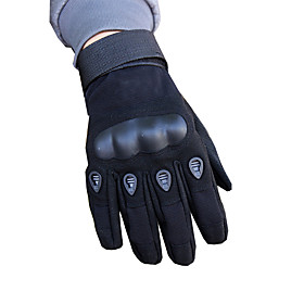 Full Finger Unisex Motorcycle Gloves Carbon Fiber Fiber Wearable Non-Skid Breathability 6574548