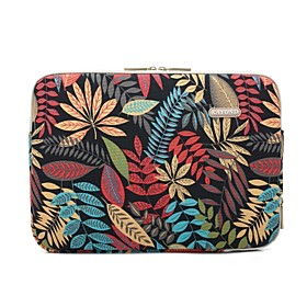 Sleeves Trees / Leaves / Flower Canvas for New MacBook Pro 15-inch / Macbook Pro 15-inch / MacBook Air 13-inch