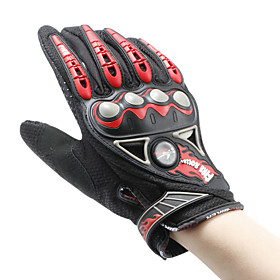 PRO-BIKER MCS-23 Safety Full Finger Gloves Wear-Resistant Wind-Proof Safety Protective Bike Bicycle Motorcycle Racing Protection - One Pair 5602624